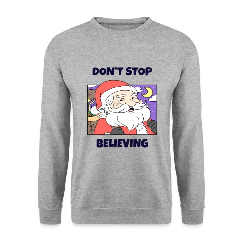 Stygg julegenser -Don't stop believing - Genser unisex