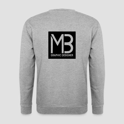 Logo MB Graphic Designer Black - Felpa unisex