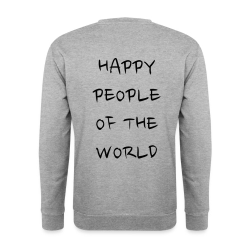 Happy People Of The World - Mannen sweater