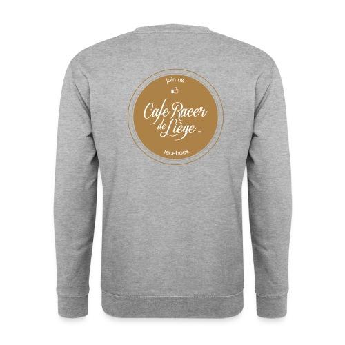 Logo Cafe racer de Liège FB - Sweat-shirt Homme