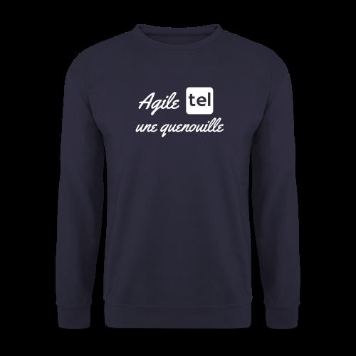 agile tel une quenouille - Sweat-shirt Homme