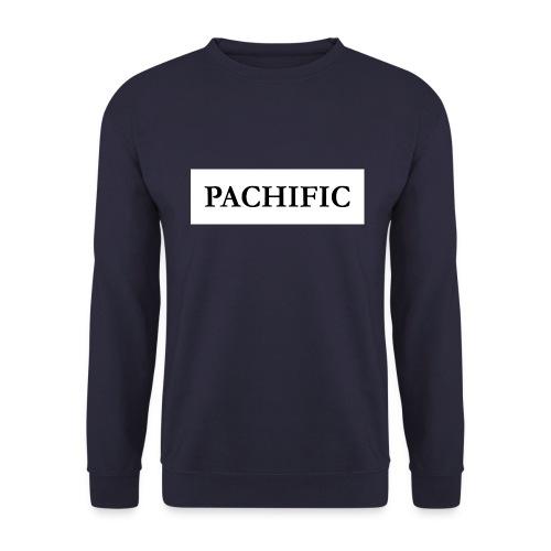 Original Be Pachific print black on white - Männer Pullover