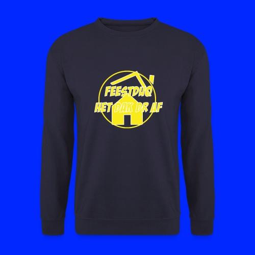 Geel Logo - Mannen sweater