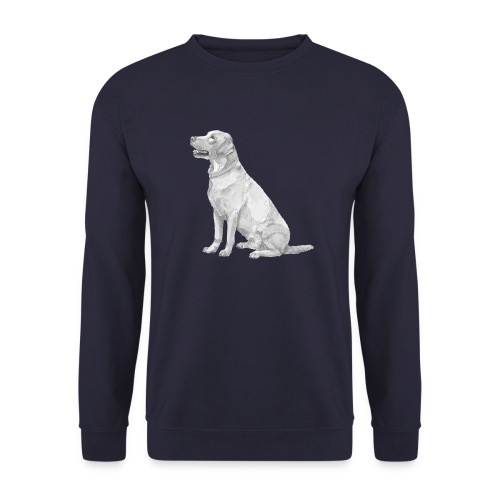 labrador Retriever Gul - Herre sweater