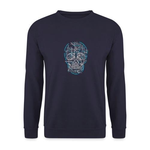 electric skull tshirt ✅ - Männer Pullover