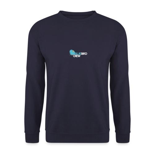 BlueCird Logo White - Männer Pullover