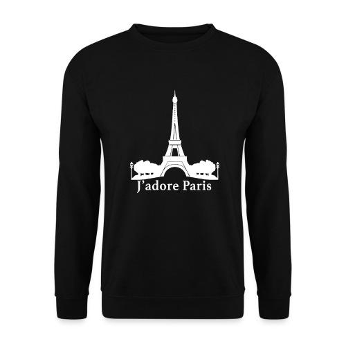 Design j'adore paris ma ville - Sweat-shirt Unisex
