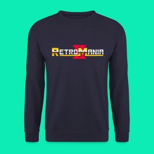 Retro Mania II - Logo - Männer Pullover