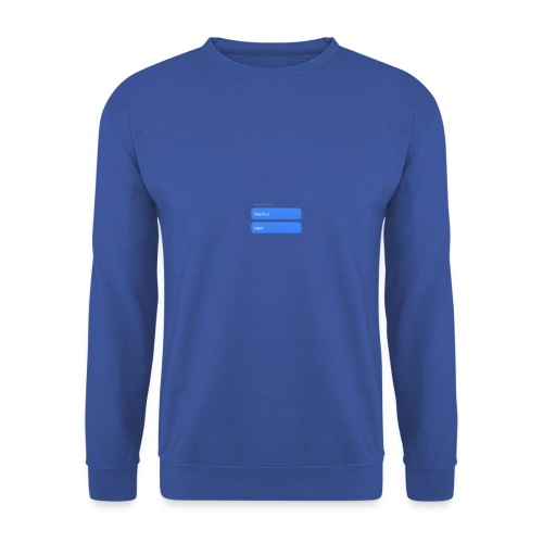Thank u, next - Unisex sweater