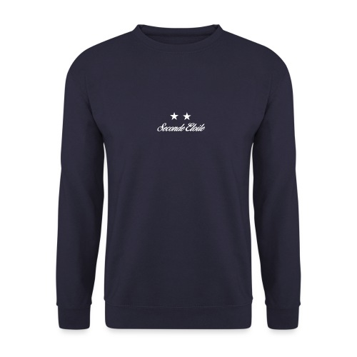 Seconde Etoile (Police blanche) - Sweat-shirt Homme