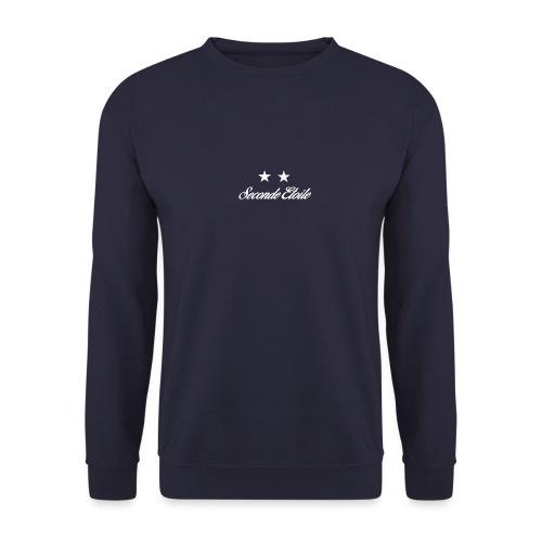 Seconde Etoile (Police blanche) - Sweat-shirt Unisex