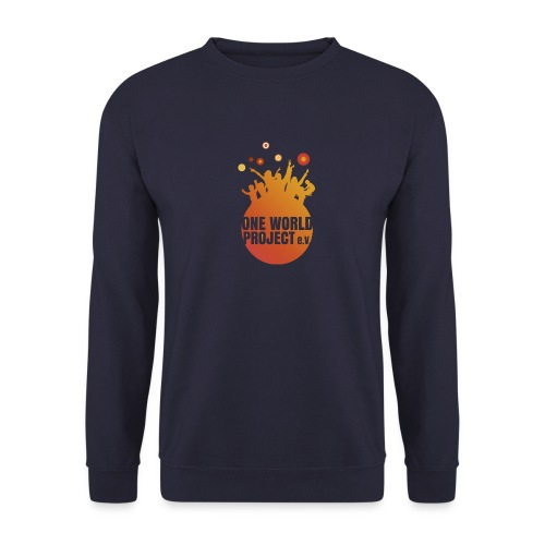 One World Project e. V. - Logo - Männer Pullover