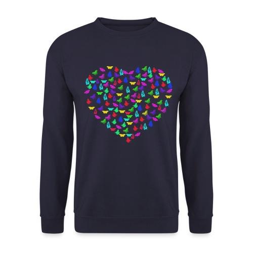 Butterflys heart - Unisex Sweatshirt