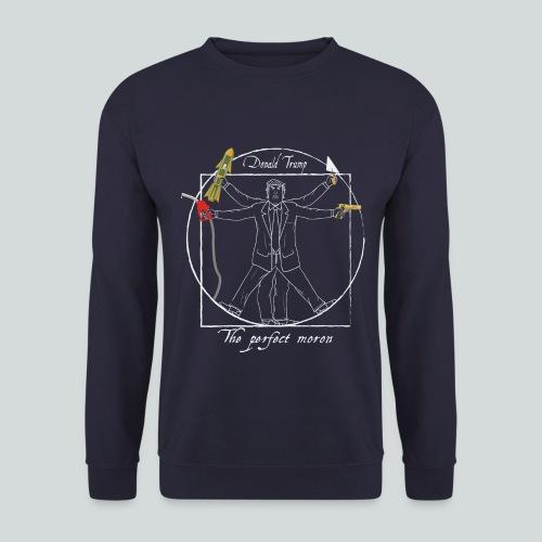 Trump : Le parfait crétin I - Anti-Trump design - Sweat-shirt Homme