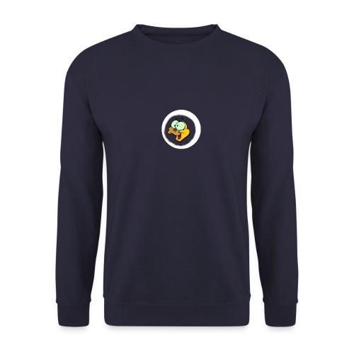 REX hoved logo hvid png - Unisex sweater
