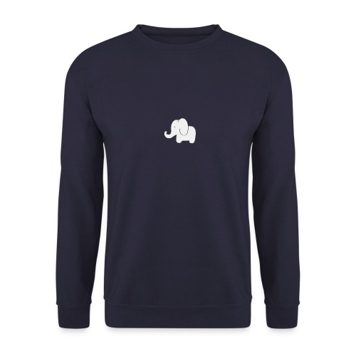 Little white elephant - Men's Sweatshirt