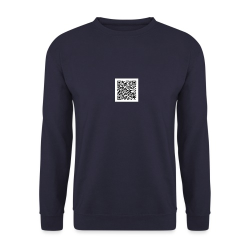 static qr code without logo jpg - Sweat-shirt Homme