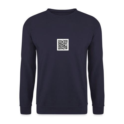 static qr code without logo jpg - Sweat-shirt Unisexe