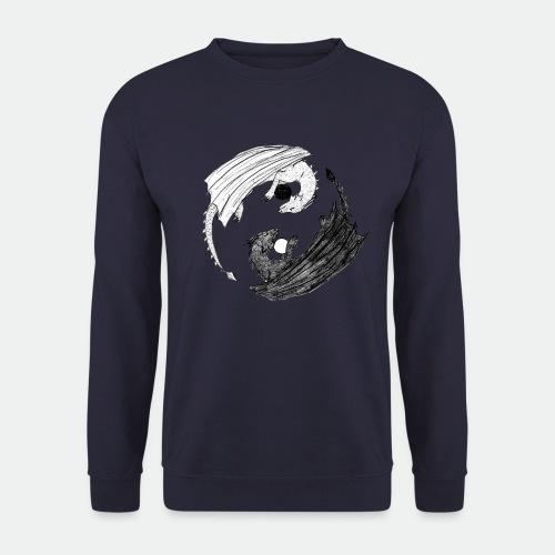 Sophias Ying Yang Drachen - Unisex Sweatshirt