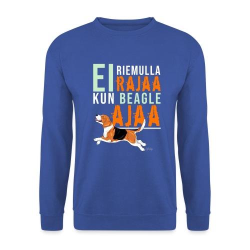Riemulla Rajaa Beagle - Unisex svetaripaita