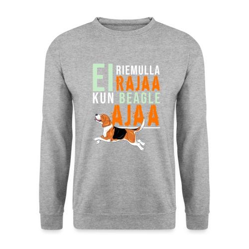 Riemulla Rajaa Beagle - Miesten svetaripaita