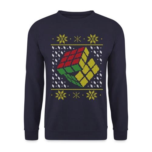 Rubik's Cube Ugly Christmas - Unisex Sweatshirt
