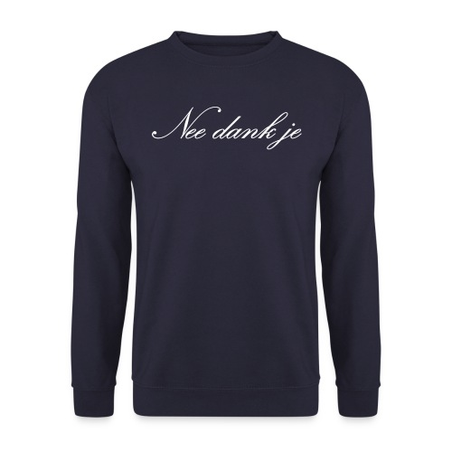 NeeDankJeW png - Unisex sweater