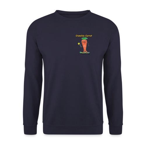 Crunchie carrot with name - Unisex Sweatshirt