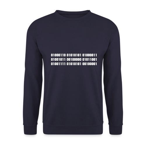 Fuck you binary code - Men's Sweatshirt