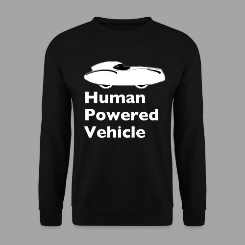 Quattrovelo Human Powered Vehicle white - Unisex svetaripaita