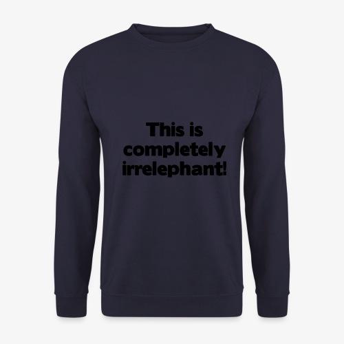Irrelephant - Männer Pullover