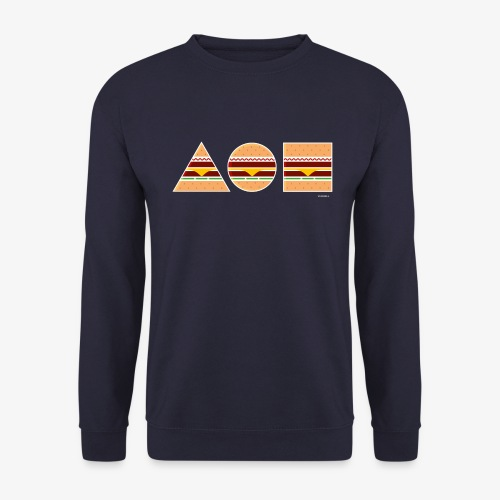 Graphic Burgers - Felpa da uomo