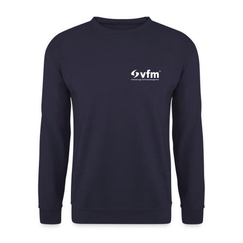 vfm-Logo weiß - Männer Pullover