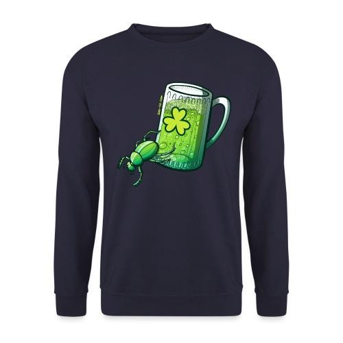 Saint Patrick's Day Beetle - Men's Sweatshirt