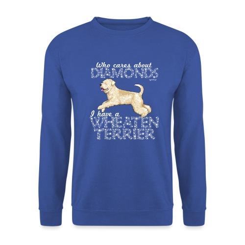 Wheaten Terrier Diamonds 4 - Unisex Sweatshirt