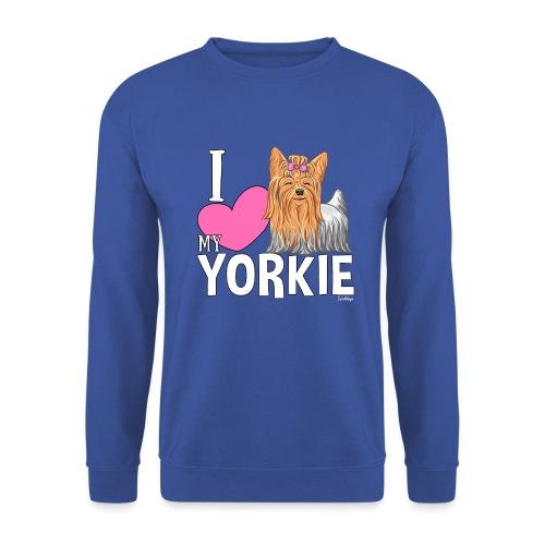 I love my Yorkie - Unisex svetaripaita