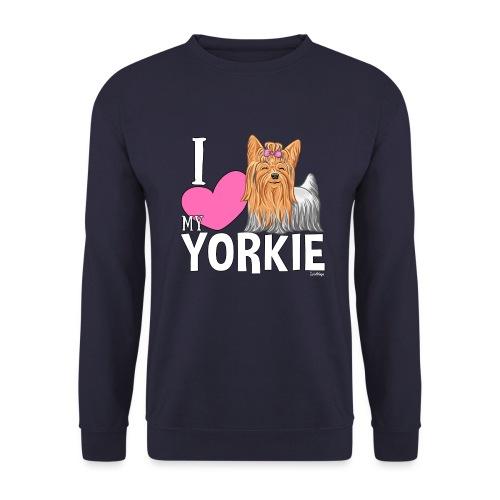 I love my Yorkie - Miesten svetaripaita