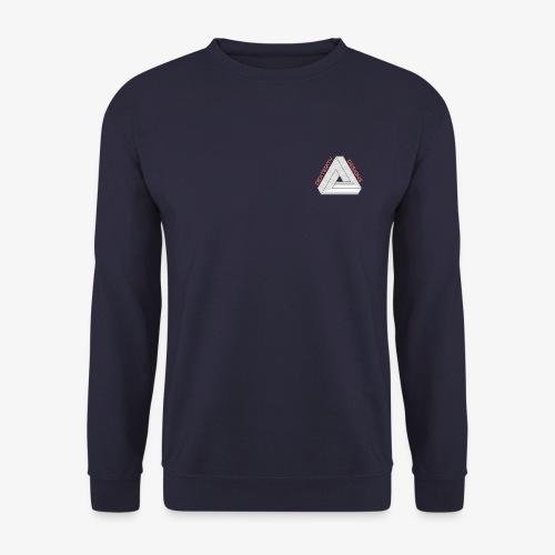 Modern Triangular Dexterity Logo - Men's Sweatshirt