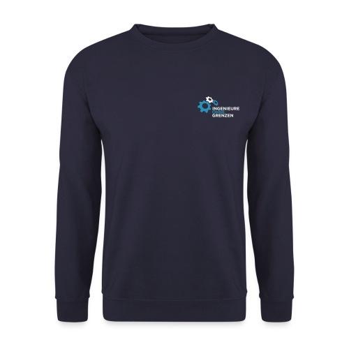 logo v1 aufdunklemblau cmyk - Männer Pullover