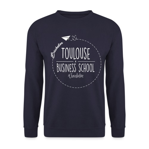 logoblanc png - Men's Sweatshirt