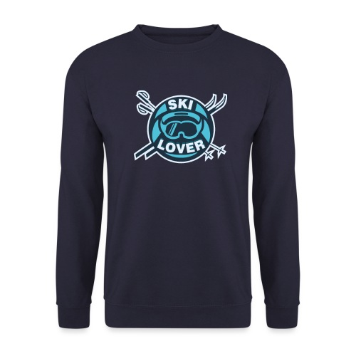 Winter Sports Ski Lover - Men's Sweatshirt