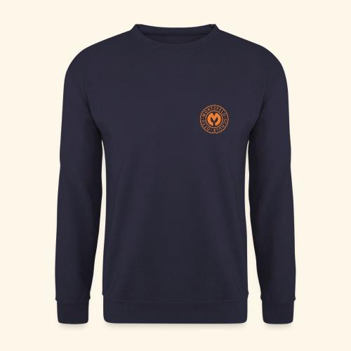 Otto-Mortzfeld-Schule Logo orange - Männer Pullover