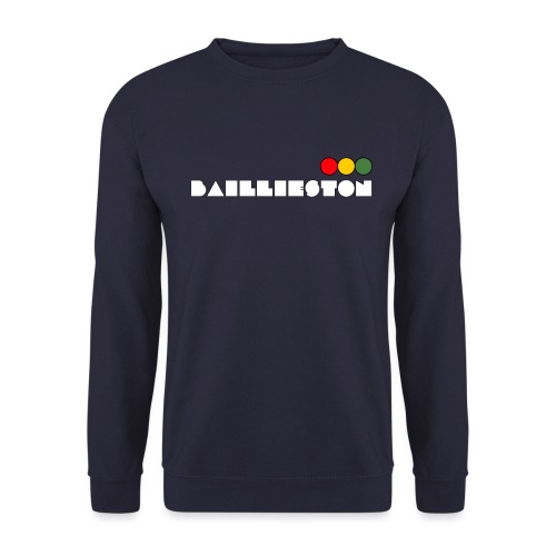 baillieston white - Men's Sweatshirt
