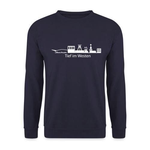 Skyline Bochum Tief im Westen - Männer Pullover