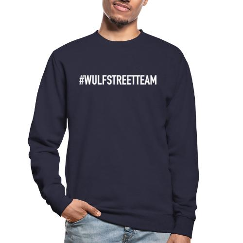 WULFSTREETTEAM TEKST - Unisex sweater