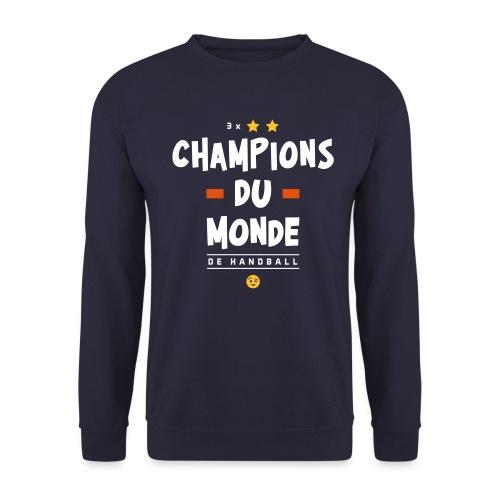 Champions du Monde de Handball - Sweat-shirt Homme