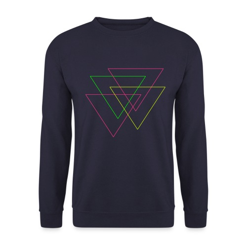 triangles - Sudadera unisex