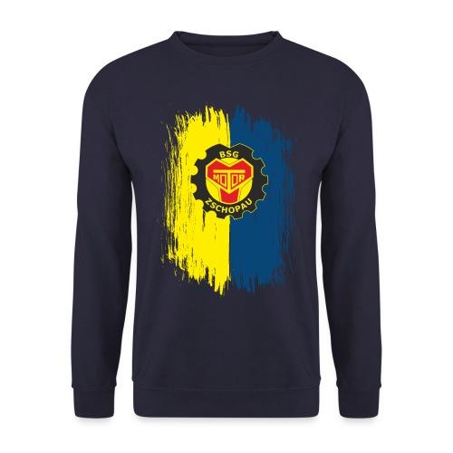 Blau-Gelb mit Wappen - Unisex Pullover