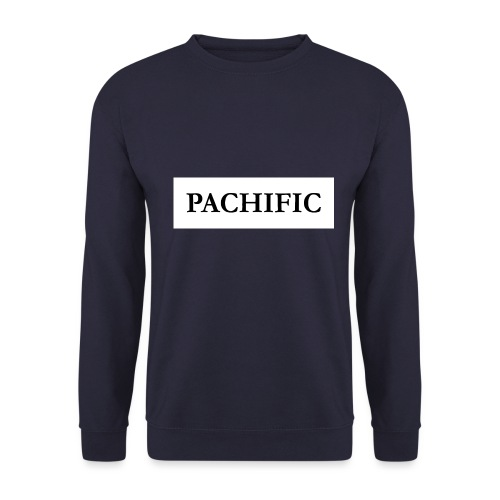 Original Be Pachific print black on white - Männer Pullover