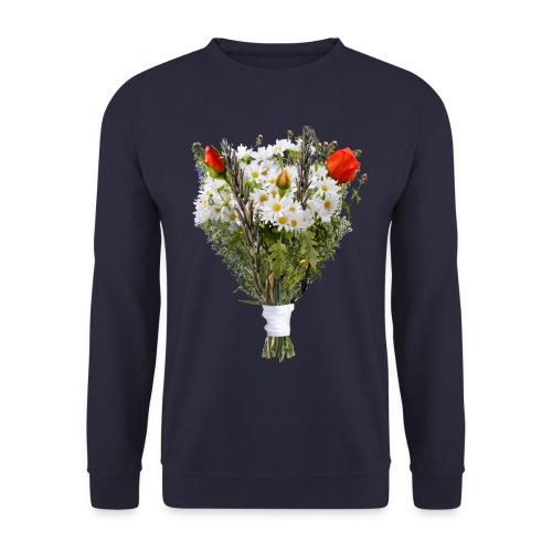 a bouquet of flowers - Unisex Sweatshirt